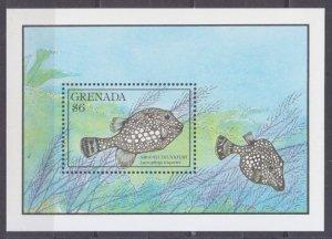 1990 Grenada 2160/B254 Sea fauna 8,00 €