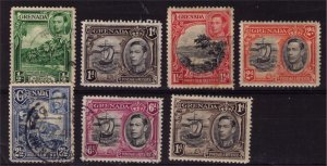 GRENADA - KGVI Era Stamps Used and Mint 1p