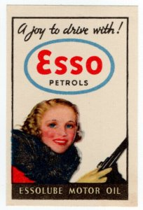(I.B) Cinderella Collection : Esso Petrols (A Joy to Drive With)