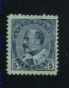 Canada 91  Mint VF 1903   PD