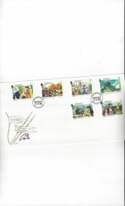 Jersey 516-21 French Revolution  FDC Jersey Post Office