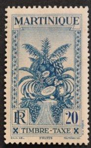 DYNAMITE Stamps: Martinique Scott #J28 – MINT hr
