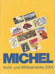 Michel Nord- und Mittelamerika 2004 stamp catalog, North & Central America, used