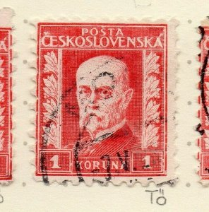Czechoslovakia 1926-27 Issue Fine Used 1k. NW-148589