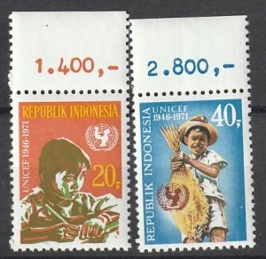 #808-09 Indonsesia Mint OGNH w/tab CV $6.50 #191317-2