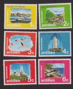 Netherlands Antilles #331-336 Mint NH Island Set