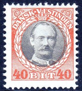 Danish West Indies (DWI) - Scott #49 - MH - SCV $5.75