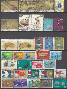 COLLECTION LOT OF # 1610 CHINA 33 STAMPS 1970+ CLEARANCE