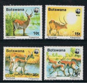 BOTSWANA 1988 WORLD WILDLIFE FUND