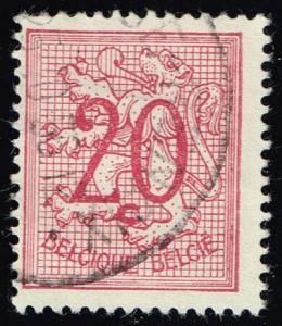 Belgium #409 Lion Rampant; Used (0.25)