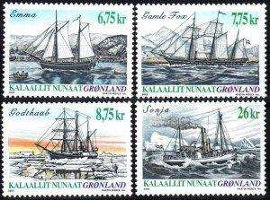 Greenland #416-9  MNH CV $19.25 (X1248)