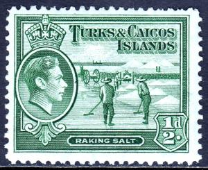 Turks and Caicos Islands - Scott #79 - MH - SCV $2.40