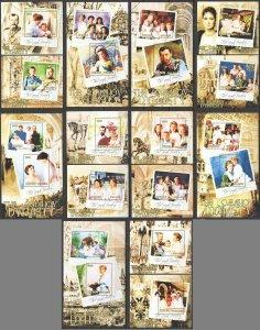 I0299 2013 BENIN ROMANOV DYNASTY THE ROYAL FAMILY !!! 5KB+10BL MNH