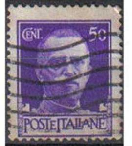 ITALY, 1929, used 50c, King Victor Emmanuel III, Imperial Series.