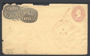 Scott U35, PAID, Bamber & Co's Express, Independent Carri...