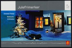 Norway 1490-1 in Presentation Pack MNH - Christmas, Snowman