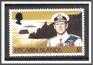 Pitcairn Islands #172 Prince Philip & Ship MNH