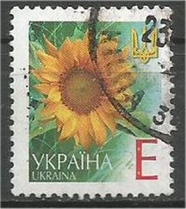UKRAINE, 2001, used E, Sunflower Scott 420