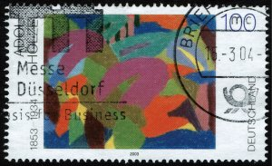Germany #2230  Used - Art Painting by Holzel (2003)