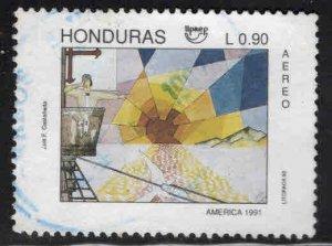 Honduras  Scott C827 Used airmail stamp