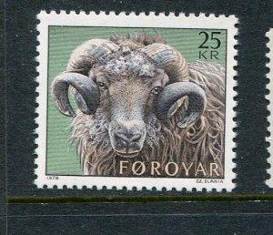 Faroe Islands #42 MNH