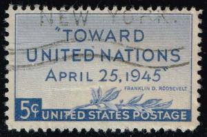 US #928 United Nations Conference; Used (0.25)