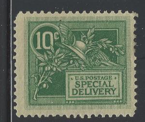 VEGAS 1908 USA Special Delivery Sc# E7  - MNH, Undisturbed OG - Fine - (DA14)