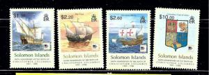 Solomon Is 1048-51 MNH 2006 Christopher Columbus and Ships