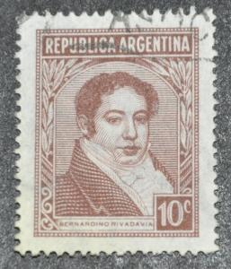 DYNAMITE Stamps: Argentina Scott #490 – USED