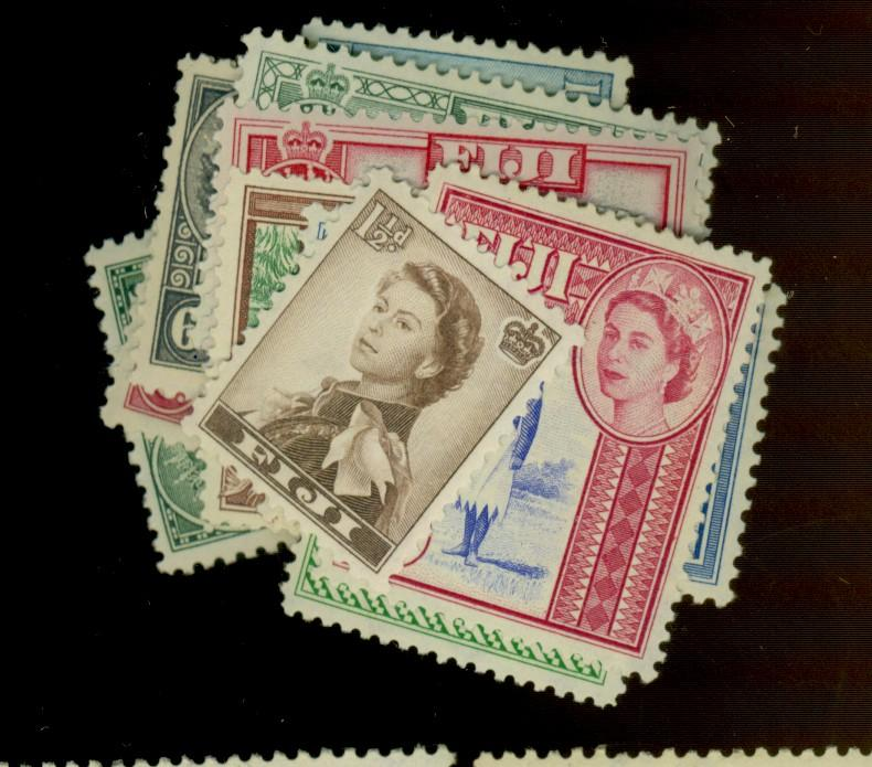 Fiji #147-162 MINT F-VF AOG LH/NH Cat$141.15
