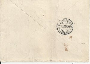 ITALY 1920 - REGISTERED COVER