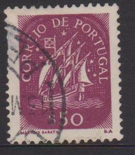 Portugal Sc#621 Used Small Thin Left