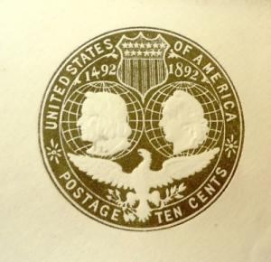 U351, 10c U.S. Postage Envelopes