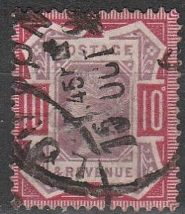 Great Britain #121 F-VF Used CV $42.50 (D207)