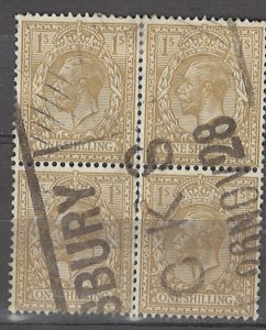 COLLECTION LOT # 3914 GB #200 BLOCK OF 4 1924 CV+$14