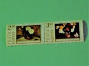 Romania - 2545-46, MNH Set (Pair). Paintings. SCV - $2.25