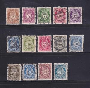Norway 75, 78-80, 82, 85-86, 88-91, 93-95 U Post Horn