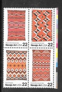 #2235-38 MNH Block of 4