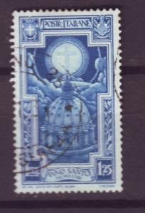 J13948 JLstamps 1933 italy used #313 st peters dome cross