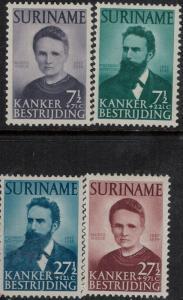 Surinam 1950 SC B49-B52 Mint SCV$ 70.00 Set