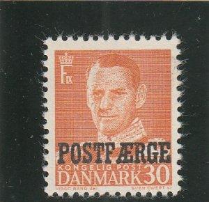 Denmark  Scott#  Q32  MH  (1949  Parcel Post)