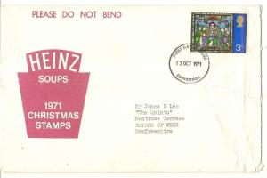 GB 1971 Heinz Presentation pack (No Stamps)