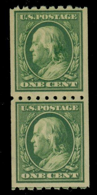 390 MINT Pair F-VF OG LH Cat$10.50