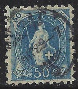 Switzerland #92 Used Key to the Set CV$450