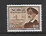 NORWAY, 289, MINT HINGED, 1947 ISSUE