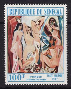 Senegal #C59 MNH Picasso/The Girls from Avignon CV$4 [50097]