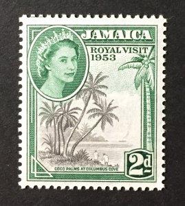 Jamaica 1953 #154, MNH, CV $.50