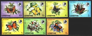 Lesotho. 1984. 442-49 from the series. Butterflies. MNH.