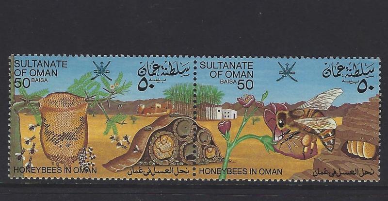 OMAN  (P1107B) BEES  SG 281A   MNH