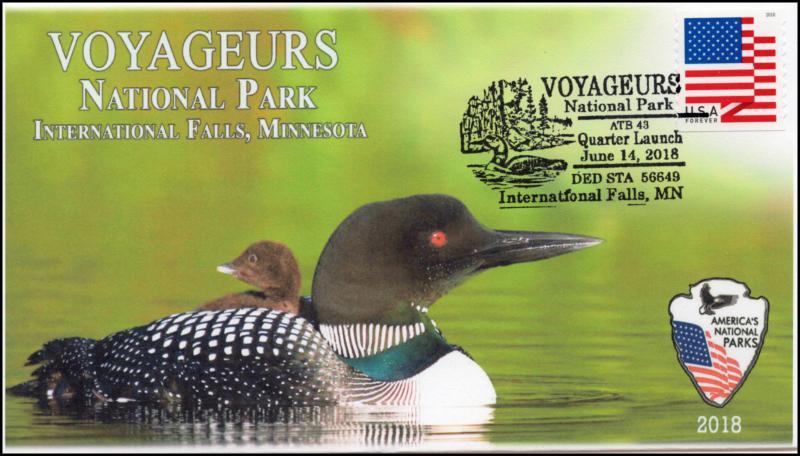 18-128, 2018, Voyageurs National Park, International Falls, Pictorial, Event Cov